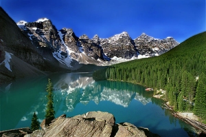 The Canadian Rockies, for instance.
