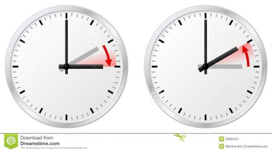 time-change-daylight-saving-time-standard-time-vector-illustration-clock-switch-to-summer-return-to-33984121