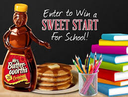Maybe Mrs. Butterworth tempted Odd with this promotion.